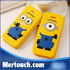 3D cartoon high quality silicone case for mobile phone, 3d cartoon silicone case for cell phone