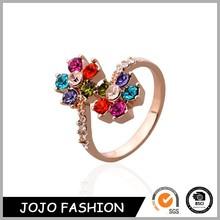 Female Stylish Latest Fashion Jewelry Diamond Rings