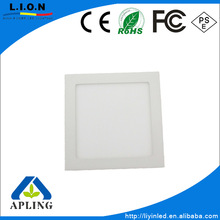"135*135mm cut out 5"" square 9w led panel lighting with ce rohs approved"