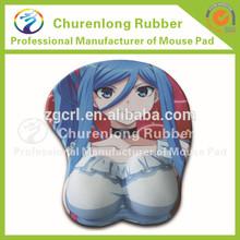 Real girl big boobs of cartoon sexy photos silicone mouse mats