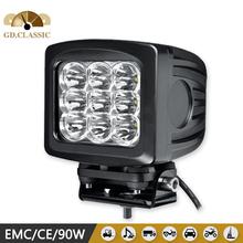 5 inch super Brighter round 90w LED Working Light