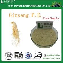 Chinese Herb Ginseng Root P.E/ 50% Natural Panax Ginseng Root Extract Powder