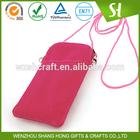 Velvet material for promotional velvet cosmetic pouch or carry bag for ps4