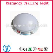 110V 220V Rechargeable battery back up emergency Motion sensor led ceiling light fixtures china