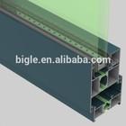Industrial profil aluminium alloy windows