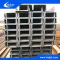 Material de construcción laminado en caliente de hierro vigas u canal