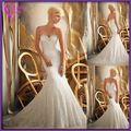 Os preços baratos!! Fábrica do oem design personalizado longo azul beading vestidos de baile branco 2012