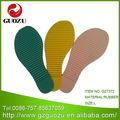 suela de caucho y material de tela de algodón superior materiales en la fabricación de zapatillas