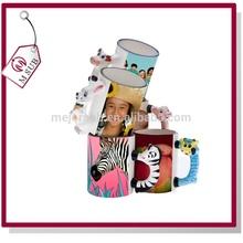 Hot sell ! Grade AAA 11oz animal sublimation mug with logo