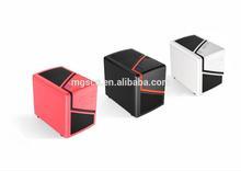 Square mini desktop computer case pc case