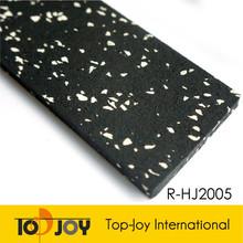 Anti-slip sparkle roll gym rubber mat flooring