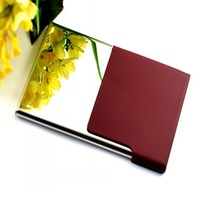 hot selling card holders/ innovative name card holder with red color