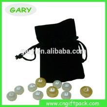 Custom Gift Pouch Velvet Bag With Drawstring For Jewelery