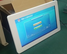 21.5inch Wal-mounted slim Advertisement Touch monitor