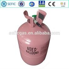 DOT AAA 4.1Kgs High standard Low pressure Helium Gas Cylinder