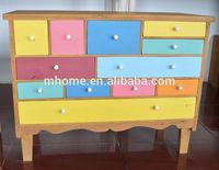 Beautiful kids chromatic solid wood bedroom furniture