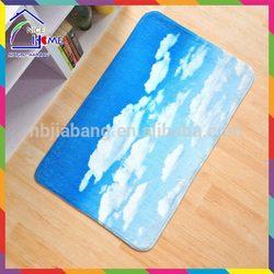 Clouds and blue sky bottom price best selling waterproof memory foam pet bed