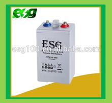 OpzV 2V250AH Solar Battery Tubular plate electrolyte solar battery