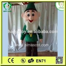 Привет CE горячая распродажа рождественские эльфы, Рождественские эльфы костюм талисмана