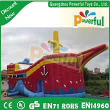 inflatable devilfish slide/inflatable octopus slide for kids