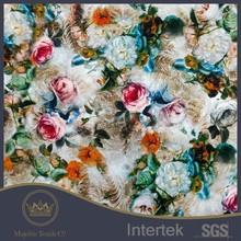Succinct 100% silk base natural white georgette