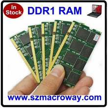 Top selling products ETT chips 64mb*8 2x1GB pc2700 ddr laptop memory 2gb