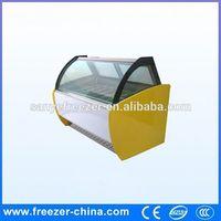 Italian stype fashion used ice cream freezer for sale Xuzhou manufacturer