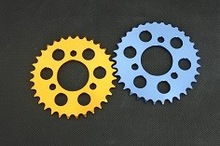 The motorcycle sprocket