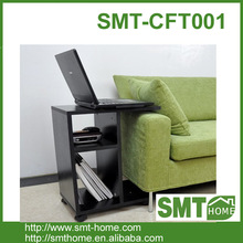 melamine MDF particle board wood end table