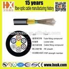 Duct 9/125 Single mode 36 core/ 28 core fiber optic cable GYFTY Optical Conduit Unfilled Cable Single Jacket