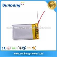 rechargeable 3.7V 180mah polymer li-ion battery 552025 for track GPS/led lights