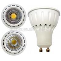 2014 New Design GU10 reflector COB LED 8W free standing spotlight