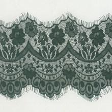 15cm wide double scalloped flower eyelash lace trim