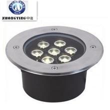 hot!! round outdoor waterproof high power 7w led underground lights,underground lights 7w