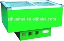Island Freezer Refrigerator Display