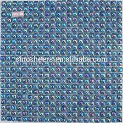 3D enamel glass tiles blues family