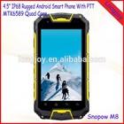 Best IP68 Waterproof Smartphone Snopow M8 MTK6589 Quad Core 1GB RAM/4GB ROM With Walkie Talkie GPS Function