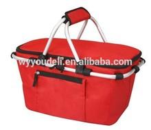 2015 Wholesale Nylon Foldable Shopping Bag ,shopping basket For Shopping