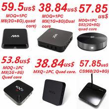 open box x5 set top box hd video/audio output