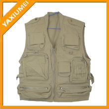 100% cotton photography vest