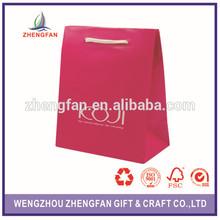 Custom-made Matt laminated paper bags,Best price!!!