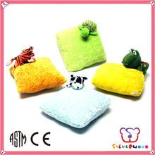 Familiar in oem odm factory fashional style soft plush baby cushion