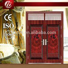 BoHuang hot sale latest design metal doors for shops