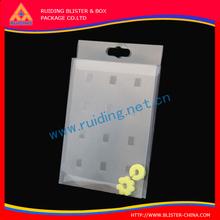Rectangular competitive price white PP watch box,pp box