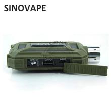 Best selling Dovpo vaporizer pen elvt mod,colorful waterproof 30W Vaping battery device