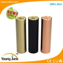 Good electrical conductivity mechanical SMPL mod clone electronic cigarette price