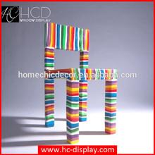 Danish fiberglass modern rainbow beauty chair