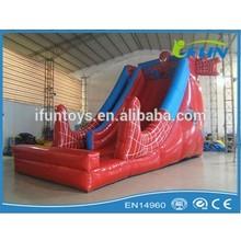 spiderman inflatable slide giant inflatable slide for kids