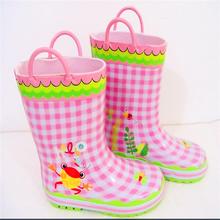 Rain boot cover child rubber boot
