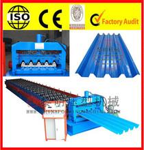 Decking Floor Steel Plate Forming Machine Decking Roll Former